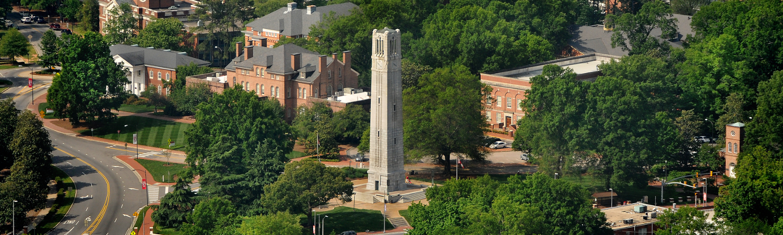 NCSU Aerial Photo Banner