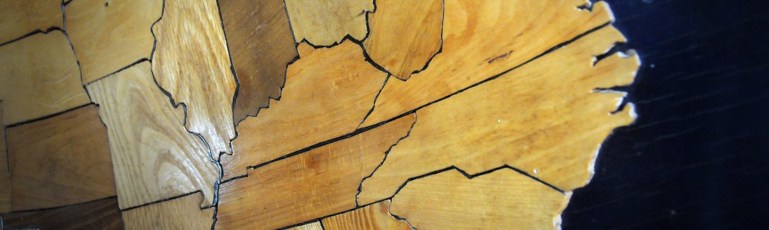 North Carolina Wooden Map